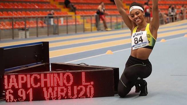 larissa iapichino stabilisce il record del mondo U20