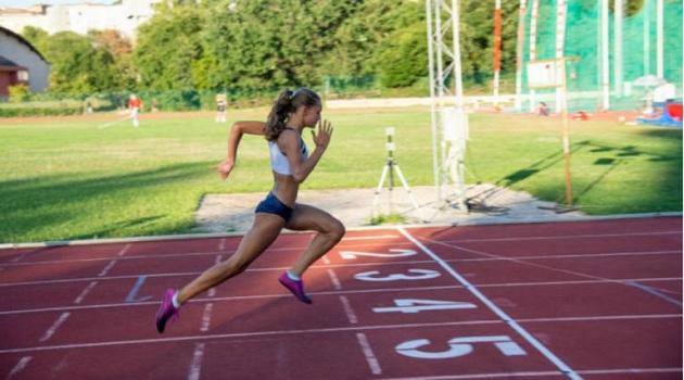 Alice Pagliarini eguaglia il record cadette sugli 80mt