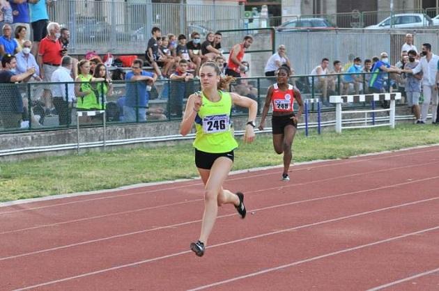 Sud Outdoor Meeting: Giulia Giordano si migliora sugli 80m!