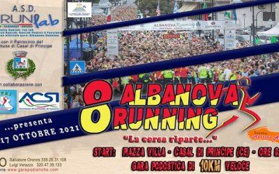 8° Albanova Running: Domenica torna l'appuntamento dell'ASD RunLab!